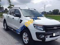 Bán Ford Ranger WildTrak đời 2015, màu trắng, giá tốt