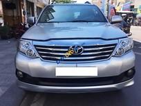 Bán Toyota Fortuner G đời 2013, màu bạc, 855tr