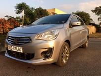 Bán Mitshubishi Attrage số tự động chính chủ mầu bạc mua mới tinh 2016 xe nhập khẩu
