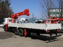 Đại lý Hyundai bán xe Hyundai HD250 gắn cẩu Kanglim KS2605 thùng dài 8.2m trả trước 20%