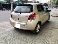 Cần bán lại xe Toyota Yaris 1.3AT năm 2010, màu kem (be), nhập khẩu chính hãng còn mới