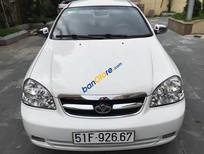 Bán Daewoo Lacetti EX đời 2008, màu trắng chính chủ