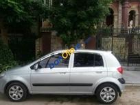 Cần bán xe Hyundai Getz MT đời 2010, màu bạc, 255tr