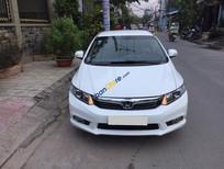 Bán xe Honda Civic AT đời 2013, màu trắng