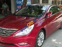 Xe Hyundai Sonata AT đời 2010, màu đỏ, 635tr