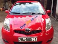 Bán xe Toyota Yaris đời 2009, màu đỏ, nhập khẩu số tự động