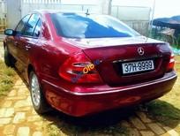 Cần bán xe cũ Mercedes E240 năm 2004, màu đỏ