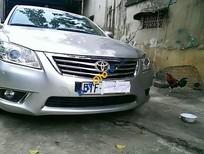 Cần bán xe Toyota Camry 2.4G 2009, màu bạc số tự động