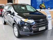 Bán Ford EcoSport 1.5L Titanium đời 2016, màu đen