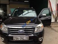 Bán xe chính chủ Ford Everest AT sản xuất 2010, màu đen, nhập khẩu