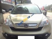 Xe Honda CR V 2.4 năm 2009, màu vàng, giá tốt