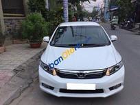 Bán Honda Civic AT đời 2013, màu trắng, 650 triệu