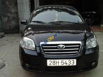 Xe Daewoo Gentra SX năm 2008, màu đen chính chủ