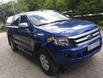 Bán xe Ford Ranger XLS MT đời 2013, màu xanh lam, xe nhập