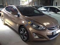 Cần bán gấp Hyundai Elantra 1.6AT sản xuất năm 2016, màu nâu