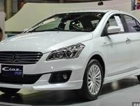 Cần bán xe Suzuki Ciaz đời 2017, nhập khẩu Thái Lan, hỗ trợ trả góp. chỉ 180tr nhận ngay xe