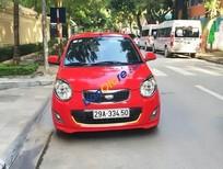 Cần bán xe Kia Morning SX sản xuất năm 2012, màu đỏ