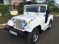 Cần bán gấp Jeep A2 đời 1975, màu trắng, nhập khẩu chính hãng, 95 triệu