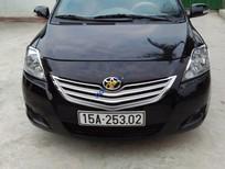 Cần tiền bán Toyota Vios 1.5E đời 2010, màu đen