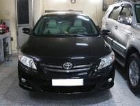 Xe Toyota Corolla đời 2010, màu đen, số tự động