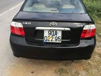 chính chủ bán Toyota Vios đời 2006, màu đen