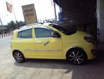 Xe Kia Morning đời 2010, màu vàng