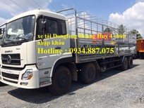 Xe tải Dongfeng Hoàng Huy 4 chân 17.9 tấn – xe tải Dongfeng 4 chân 17T9