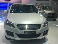Bán ô tô Suzuki Ciaz sản xuất 2016, màu trắng, nhập khẩu nguyên chiếc giá cạnh tranh