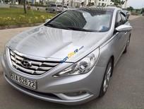 Bán xe Hyundai Sonata 2.0 AT đời 2010, màu bạc
