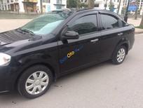 Bán xe cũ Daewoo Gentra SX 1.5 MT đời 2010, màu đen