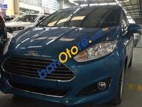 Cần bán xe Ford Fiesta AT đời 2016, màu xanh lam, 525 triệu