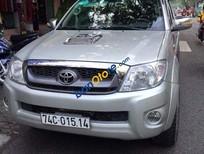 Bán Toyota Hilux 2.5 sản xuất năm 2009, màu bạc, nhập khẩu