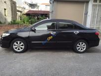 Bán xe cũ Toyota Corolla Altis 1.8G đời 2008, màu đen ít sử dụng, 499 triệu