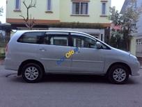 Xe Toyota Innova 2.0G đời 2010, màu bạc số tự động, 505 triệu