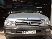 Bán ô tô Toyota Land Cruiser đời 2002, màu bạc