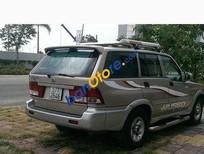 Bán xe Ssangyong Musso đời 2001, màu xám
