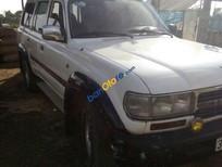 Thanh lý Toyota Land Cruiser năm 1990, màu trắng