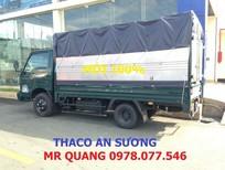 Xe tải Thaco Kia K165 thùng mui bạt mới trả góp với lãi suất ưu đãi.