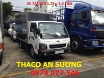 Xe tải Kia Trường Hải K165, tải trọng 1T65, 2T3, 2T4 thùng mui bạt mới 100%