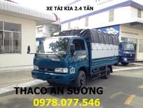 Giá xe tải Thaco K165 2,4 tấn, xe tải kia 2 tấn 4 - Xe tải Thaco xe tải thùng kín mới