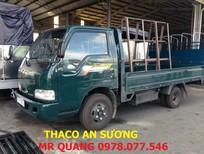 Thaco K165S 2.4 tấn, mới nhất 2016, Thaco Kia K165S trọng tải 2.4 tấn thùng mui bạt