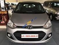 Bán xe Hyundai i10 1.0MT năm 2014, màu bạc, nhập khẩu nguyên chiếc, xe gia đình, giá chỉ 395 triệu