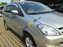 Cần bán Toyota Innova G 2007, màu bạc số sàn, 465tr