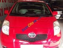 Bán Toyota Yaris sản xuất 2007, màu đỏ đã đi 48000 km