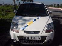 Cần bán xe Daewoo Matiz đời 2008, màu trắng, giá chỉ 208 triệu