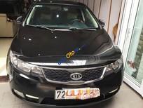Cần bán lại xe Kia Forte SX 2011, màu đen chính chủ, 450 triệu