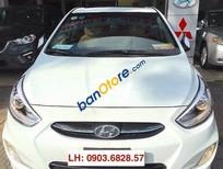 Bán Hyundai Accent 1.4AT đời 2015, màu trắng ít sử dụng, giá 578tr