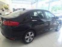Bán Honda City 1.5 CVT sx 2017, màu đen, giá tốt