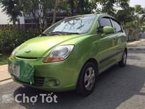 Cần bán Chevrolet Spark LS Van đời 2009, màu xanh, ít sử dụng, giá rẻ