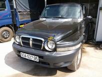 Bán Ssangyong Korando sản xuất 2005, màu đen, xe nhập